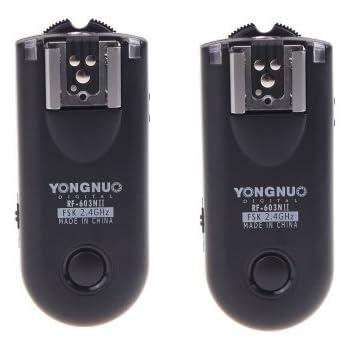 Yongnuo RF-603NII-N1 Wireless Remote Flash Trigger Kit for Nikon D800 D700 D300 D200 D1 D2 D3 D4
