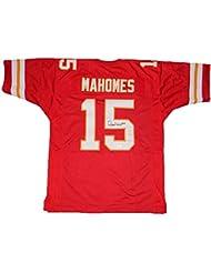 Kansas City Chiefs Patrick Mahomes Autographed #15 Red Jersey - JSA COA