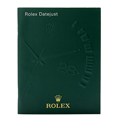 "Original and Genuine Vintage ""ROLEX DATEJUST"" instructional Booklet/Manual/Brochure 2004 (Spanish)."