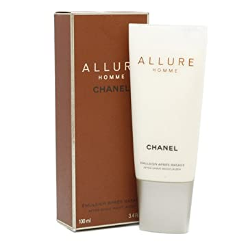 chanel aftershave. allure homme by chanel - after shave balm 100 ml aftershave i