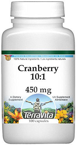 Cranberry 10:1-450 mg (100 Capsules, ZIN: 519889) - 2 Pack