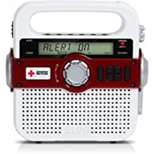 The American Red Cross FR370 Portable Emergency Preparedness Radio with SAME Technology and NOAA Weather Alerts, ARCFR370WXR