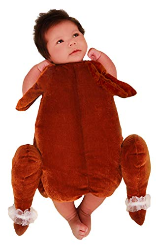 Princess Paradise Baby's Little Turkey Deluxe Costume, As Shown, ()