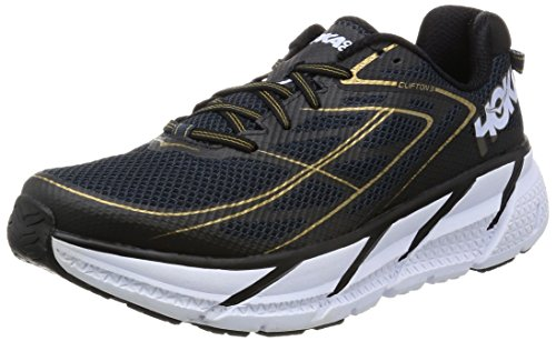 HOKA ONE ONE Men's Clifton 3 Running Shoe Midnight...
