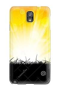 Hot Design Premium TXhFekA12779BjbSS Tpu Case Cover Galaxy Note 3 Protection Case(bright Orange Burst )
