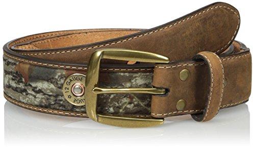 Nocona Belt Co. Men's Camo Bulet Straight, Mossy Oak, 40 from Nocona Belt Co.