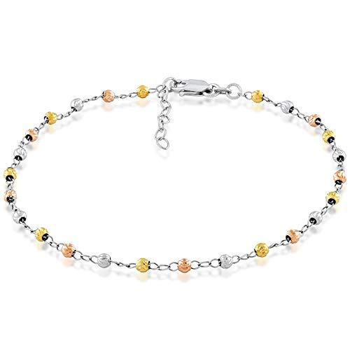 Belle Silver Sterling Bracelet (Sterling Silver 9