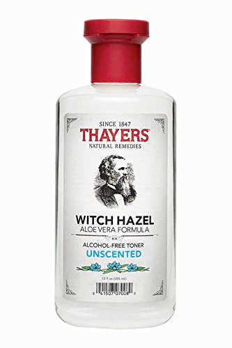 Thayers Alcohol-free Unscented Witch Hazel Toner (12-oz.) (Cleanser Homemade Facial)