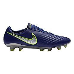 Nike Men's Magista Opus Ii Fg Soccer Cleat (Sz. 9) Deep Royal Blue