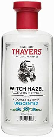 THAYERS WITCH HAZEL,ALOE,UNSCNTD, 12 Oz Pack of 2