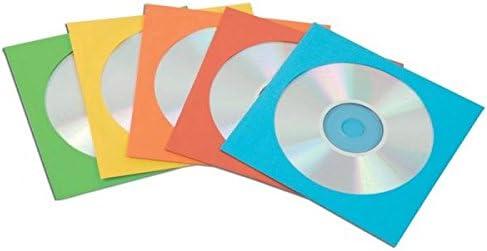 Fellowes 9068901 - Pack de 50 Sobres Papel para CDs/DVDs, Multicolor: Amazon.es: Electrónica
