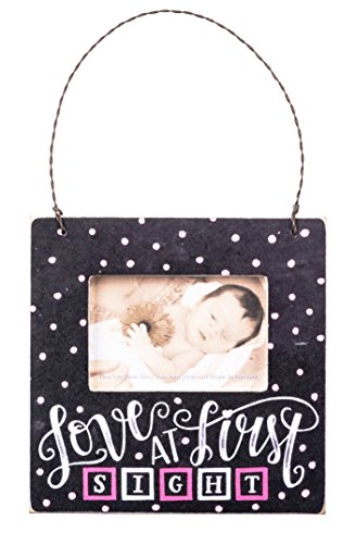 Primitives by Kathy Mini Wood Picture Frame Ornament for Baby Photo - Masculine Frames Picture