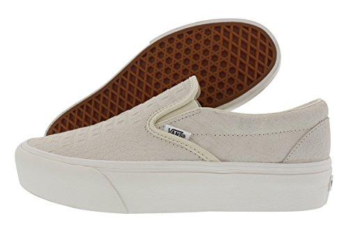 ede397ea693 Vans Women s Classic Slip-On Platform Sneakers (9.5 Women 8 Men M US ...