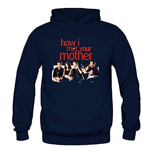 YYShirt Women's How I Met Your Mother Hoodie Sweatshirt Medium Royal Blue
