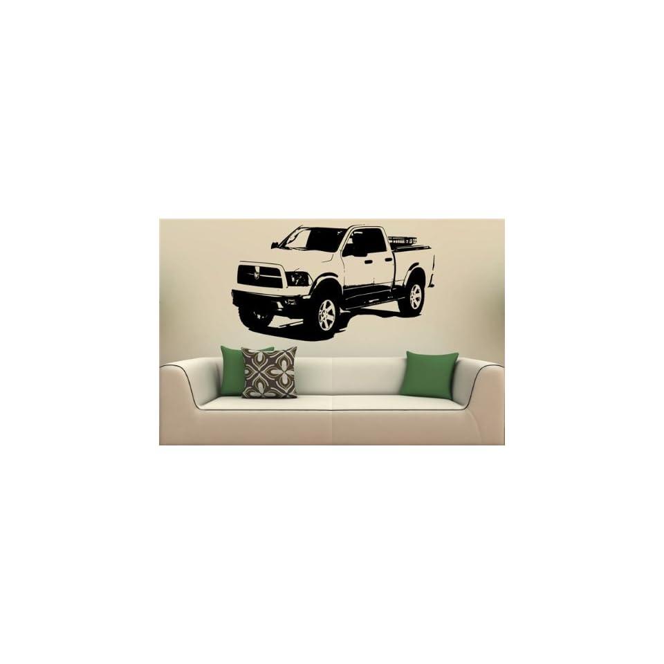 Wall Mural Vinyl Decal Stickers Car 2009 Dodge Ram Trxtreme S1848