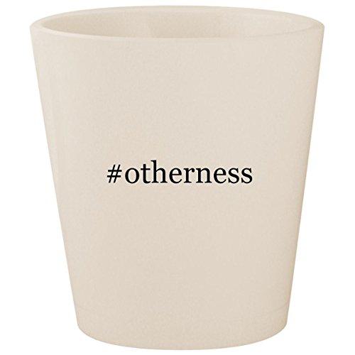 #otherness - White Hashtag Ceramic 1.5oz Shot