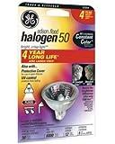 Ge Mr16 Halogen Floodlight Bulb 50 W Gu5.3 1-7/8 In. Boxed