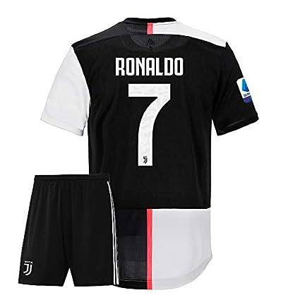 brand new 7edda 08303 ## Ronaldo 7 Printed Juventus Jersey 2019-20 /SERIA A Juventus Football  Jersey with Shorts/Imported Master Quality