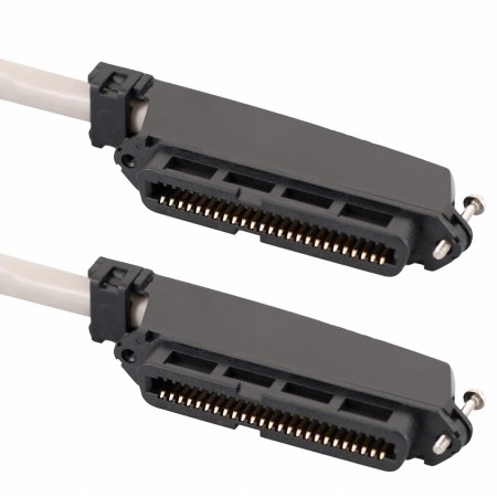 ICC ICPCSTFF25 Female To Female 50 Pin Telco connectors CAT 3 Telco cable