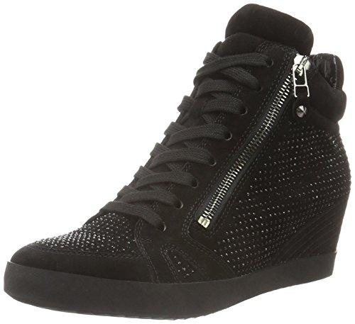 Kennel und Schmenger Schuhmanufaktur Soho 41-50010-558, Zapatillas altas para mujer Negro (schwarz/black Sohle schwarz 480)