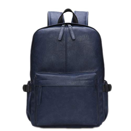 - Oil Wax Leather Backpack For Men Travel Backpacks Western Design Style Leather School Backpack