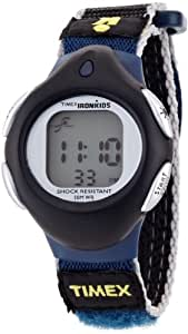 Timex Iron Kids Sports Watch - Black/Blue/Silver