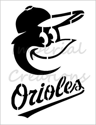 BALTIMORE ORIOLES Baseball Team 8.5