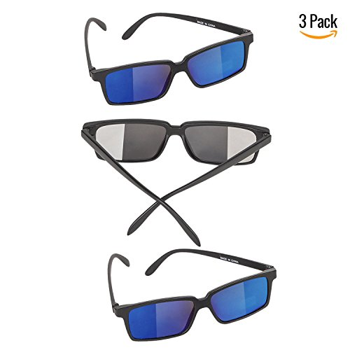 Bedwina Spy Glasses for Kids in Bulk - Pack of 3 Spy Sunglasses with Rear View So You Can See Behind - http://coolthings.us