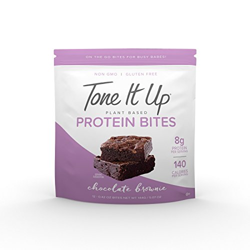 Tone It Up Plant Based Protein Bites Chocolate Brownie 5oz, pack of 1