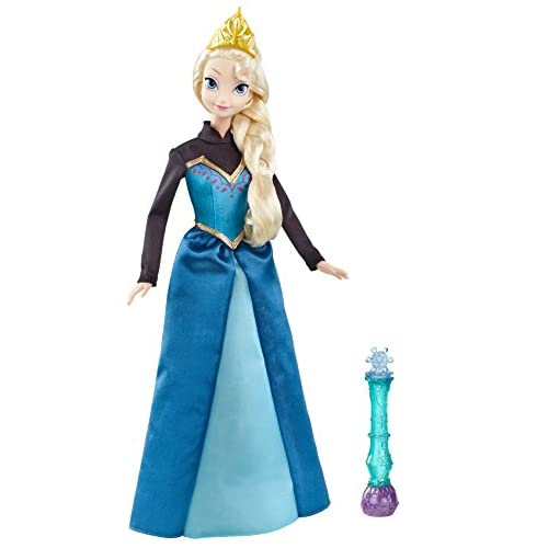 Disney Princesses - Y9964 - Poupée - Elsa Robe Enchantée