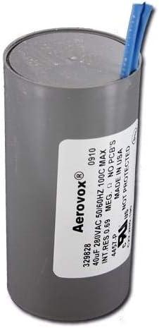 Aerovox 4454-PQ 280v 35 uf capacitor
