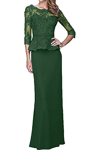 Topkleider - Vestido - para mujer Dunkelgruen