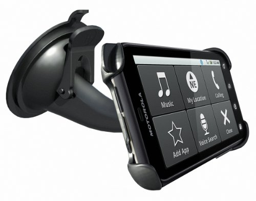 Motorola DEFY Vehicle Dock with Rapid Car Charger - Retail Packaging