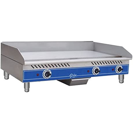 Globe Food Equipment Electric Countertop Med Duty 36 Griddle