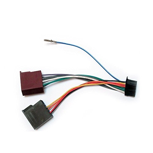 MEX-series 16-pin 22x10mm ISO female Wire Harness for Car Stereo CD Player Plug Autostereo TECH Autostereo Car Audio ISO standard harness ISO female HARNESS CAR AUDIO INSTALLATION Cable for SONY CDX DSX
