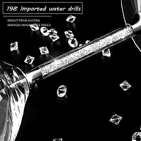 Vasos de cristal sin plomo, 350 ml, aptos para lavavajillas, 2 unidades