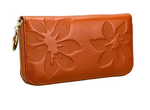 Portafoglio Da Donna Beanpink rosered 190 100 In Femminile Leather Pelle Lungo Mano Coreano A 25mm Borsa Hjly E1F5wq