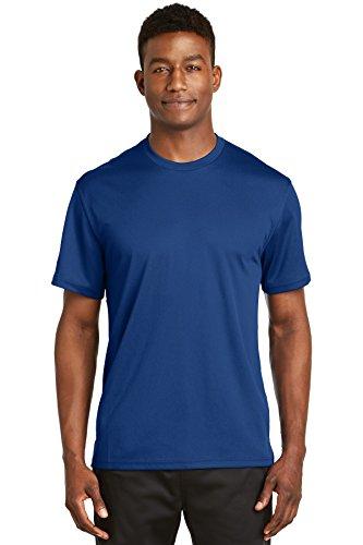 - Sport-Tek Dri-Mesh Short Sleeve T-Shirt. K468 Royal 2XL