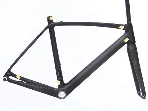 フルカーボンマットマット700 Cロードバイク自転車BSAフレームフォーク50 cm B00EQOY5FW