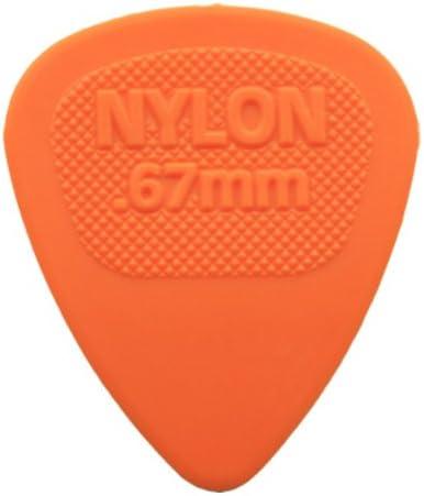 12 x Púas para guitarra presentadas Midi de nailon Dunlop/púas - 0 ...
