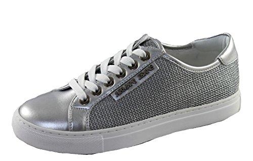 9252087p597 Mujer Armani para plata Zapatillas dqWHWY