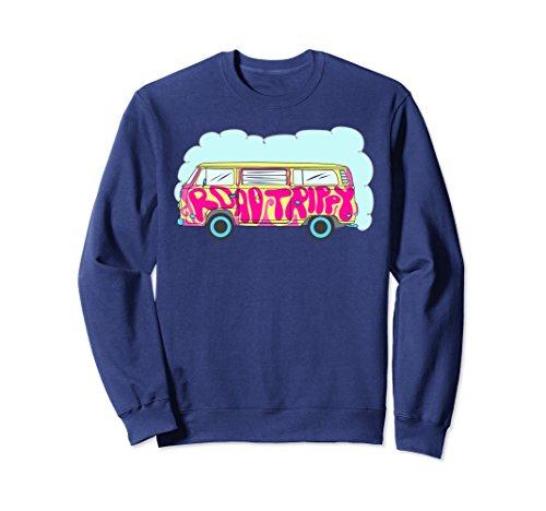 roovy Hippie Van Sweatshirt 2XL Navy (Groovy Van)