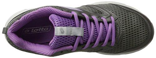 Lotto Speedride 500 W, Zapatillas de Running para Mujer Gris (Tit Gry/slv Mt)