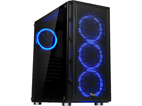 Rosewill Spectra C100-A ATX Mid Tower Gaming Case with Tempered Glass Side Panel