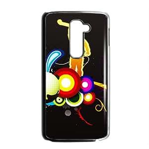 LINGH Creative Graffiti Pattern Custom Protective Hard Phone Cae For LG G2