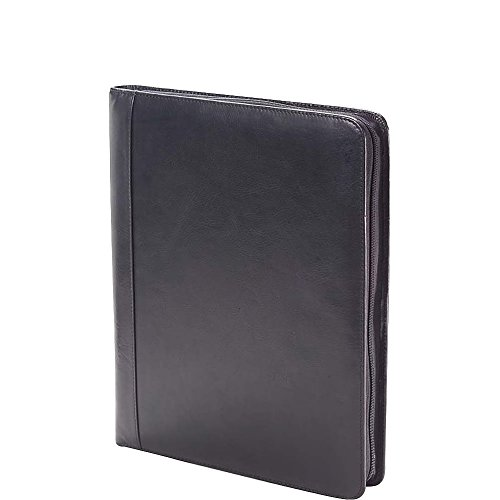 Clava Tuscan Leather Extreme File Padfolio (Tuscan Black) by Clava
