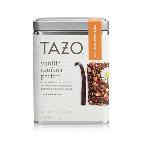 Tazo Vanilla Rooibos Full Leaf Tea, 15 Count Sachets