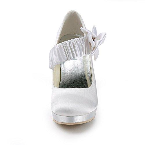 Minitoo , Escarpins pour femme - beige - Ivory-10cm Heel, 38