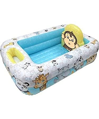 Amazon.com : Garanimals - Inflatable Safety Baby Bathtub by Disney ...