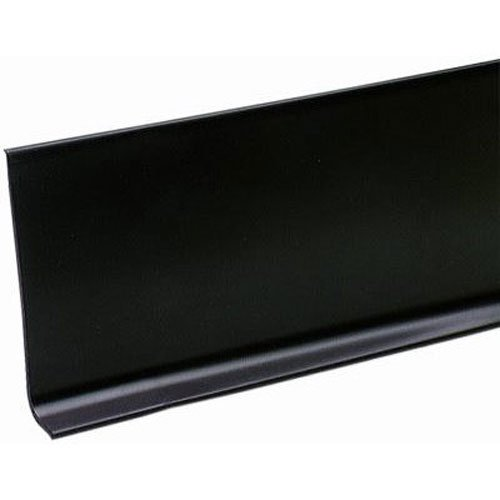 MD Building Products 75457 Vinyl Wall Base Bulk Roll 4 Inch By 120 Feet Black